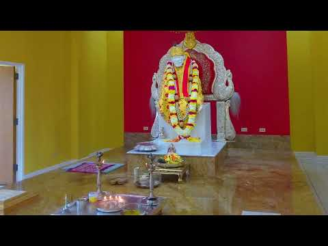 Live Streaming From Sai Samsthan USA-Shirdi Sai Baba Mandir Chicago, Aurora, IL, USA