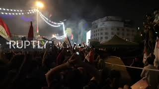 Iraq: Thousands celebrate national football team victory over Iran
