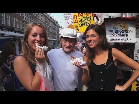 AMSTERDAM FOOD GONE WILD! - ALBERT CUYP STREET MARKET