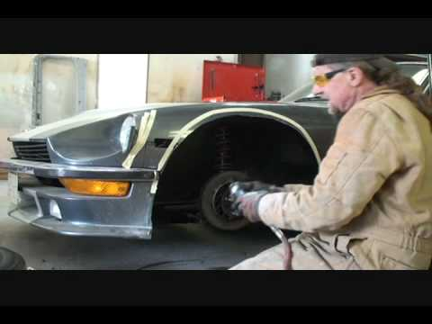 Datsun 260z S C C A How To Install Fender Flares Part 2