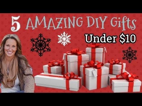 5 EASY AMAZING DIY Gifts Under $10