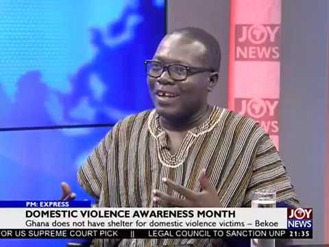 Domestic Violence Awareness Month - PM Express on JoyNews (5-10-18)