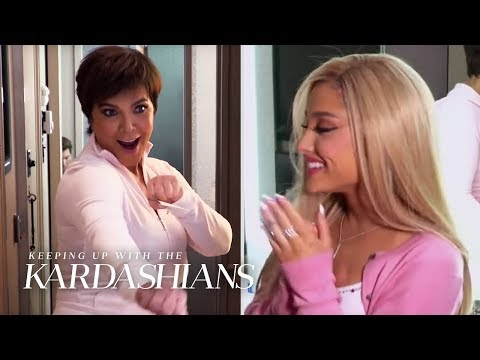 "Ariana Grande Makes Her ""KUWTK"" Debut  KUWTK  E"