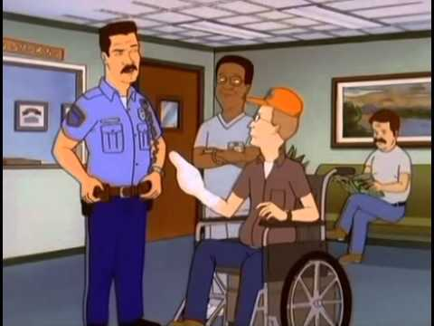 King of the Hill - Hank Cuts Off Dale