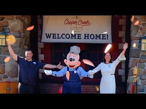 Copper Creek Villas & Cabins Grand Opening & Tour at Disney's Wilderness Lodge