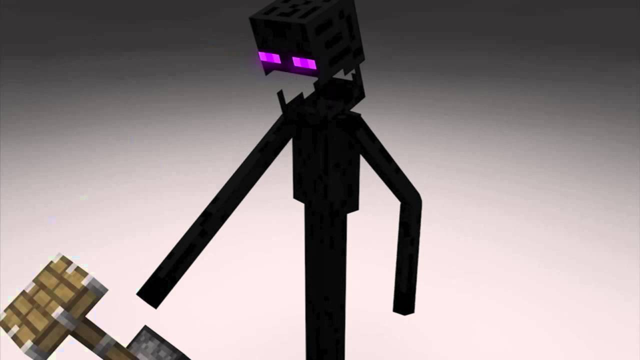 The Angry Enderman (Minecraft Short) (720p)