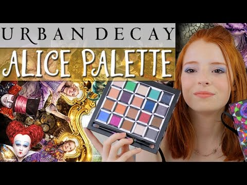 Urban Decay Alice in Wonderland Eye Shadow Palette / Naked / Alice Eyeshadow | NiliPOD