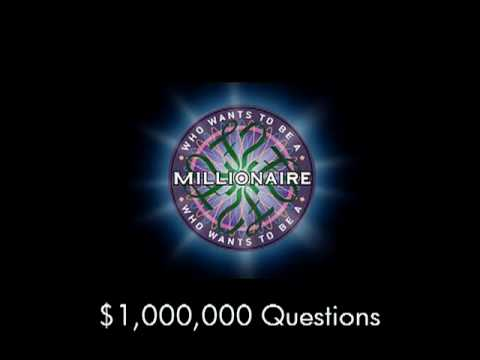 1,000,000 Question - Who Wants to Be a Millionaire?