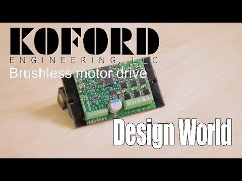Motor drive from Koford Engineering  eliminates practically all brushless-motor power-supply setup