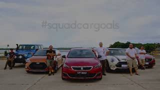 We drive the Peugeot 308 GTi to Bolinao, Pangasinan