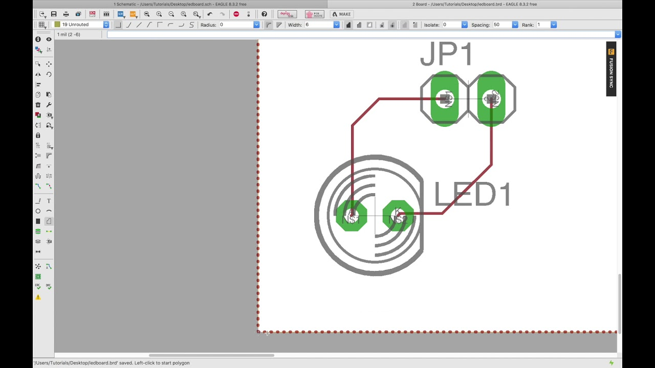 How to design a PCB with EAGLE CAD: From Design to Order - YouTube