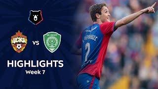 Highlights CSKA vs Akhmat (3-0)