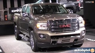 2015 GMC Canyon Pickup Truck Walkaround @ Detroit Auto Show (NAIAS) 2014
