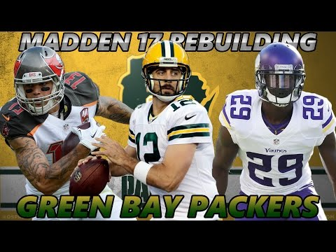 Madden 17 Connected Franchise | Rebuilding The Green Bay Packers | AMAZING LATE ROUND PICK!