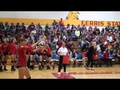 Ferris State Volleyball: 2015 GLIAC Champions