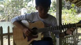fingerstyle guitar - Stay In The Shadow by Rizfi Tia (Original Song)