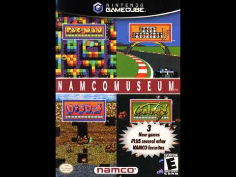 Namco Museum Game Select Menu Theme - Nintendo Gamecube