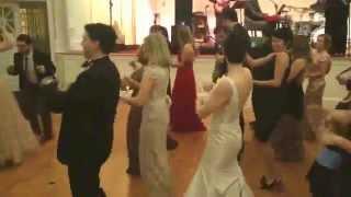 Alice Ann and Casey Clark Line Dancing wedding reception video