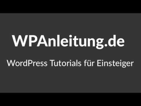 WordPress Anleitung Schritt 1 – WordPress installieren