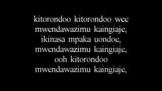 Diamond Platinumz   Mdogo mdogo lyrics   kitorondo