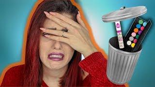 SPAR dir das GELD! 🚫Ganzes Makeup mit euren FLOP Drogerie Produkten!