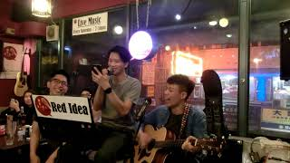 """Relic@Red Idea live music""""喜歡你""""FHD"""