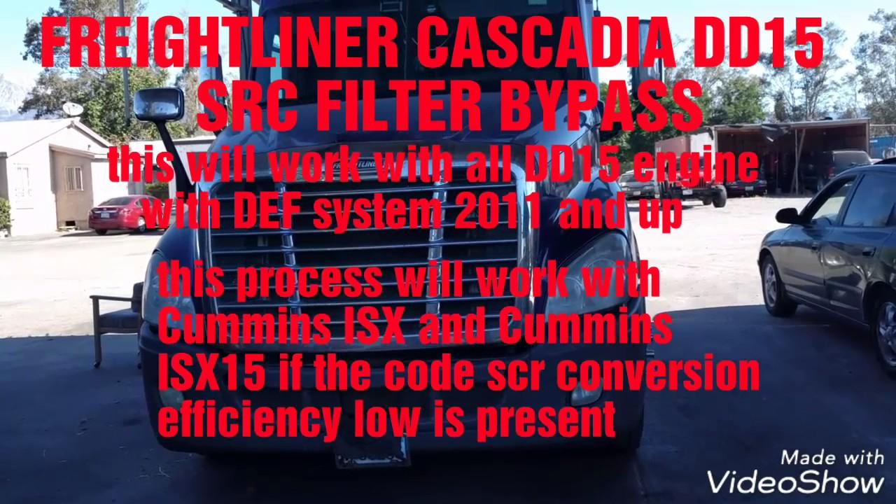 dd15 dpf filter serial number