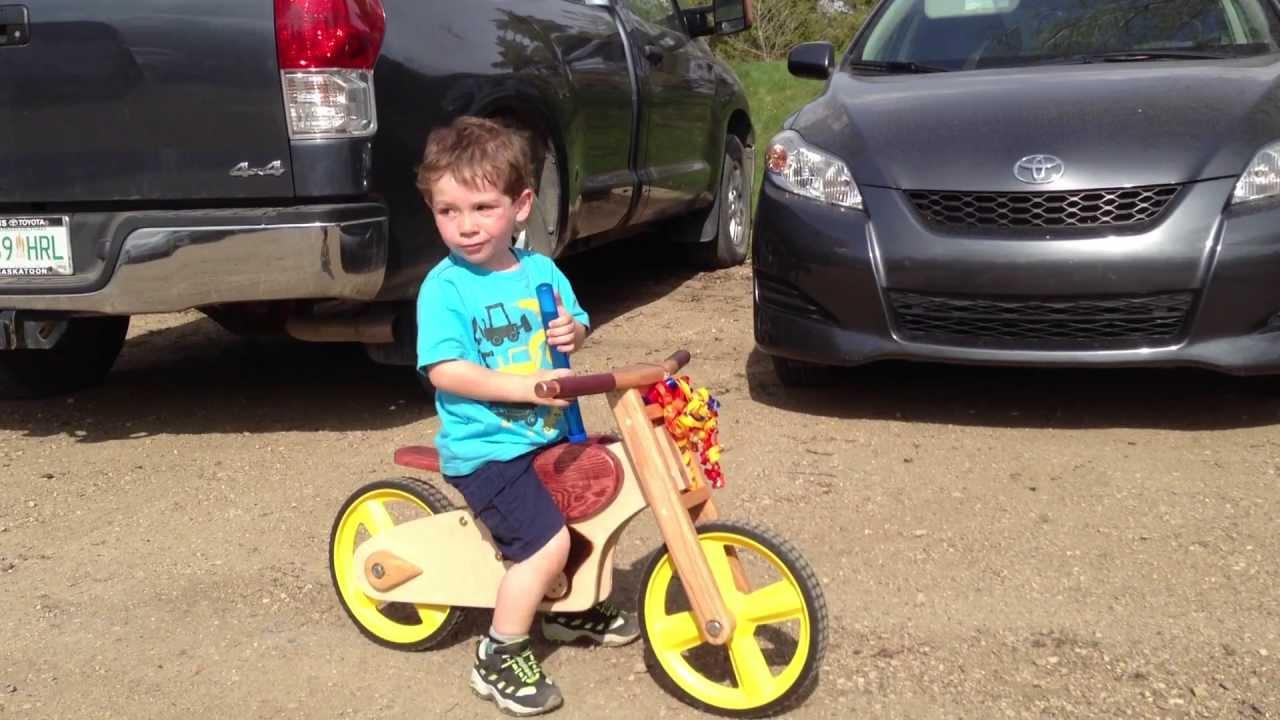 Diy Wooden Balance Bike