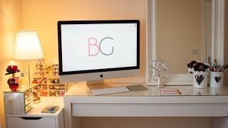 Room Tour: Malm Dressing Table, Alex Drawer & Makeup Collection | Le Beauty Girl