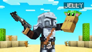 Playing As THE MANDALORIAN In MINECRAFT!
