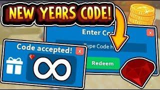 """""""2019 NEW YEARS SECRET CODE!! NEW YEARS UPDATE!!"""" Treasure Hunt Simulator Update (Roblox)"""