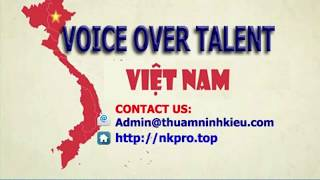Vietnamese Voice Over Talent - Hong Phuong - Slow Style - Male or female voice recording Vietnam