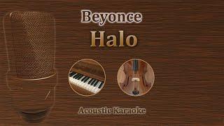 Halo - Beyonce (Acoustic Karaoke)