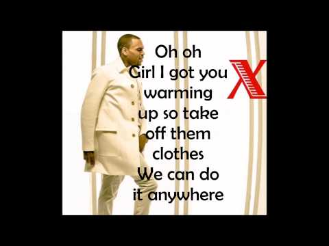 Chris Brown - Wildcat ( Lyrics )