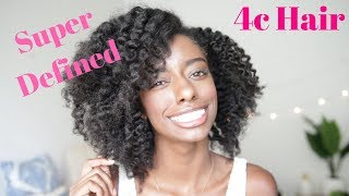 Super Defined Flat Twist On 4c Natural Hair