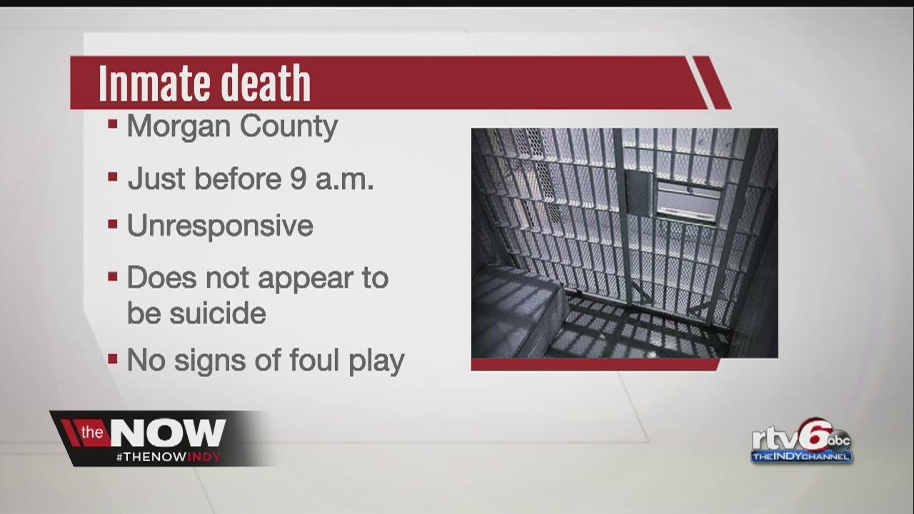 Morgan County inmate found unresponsive in jail cell