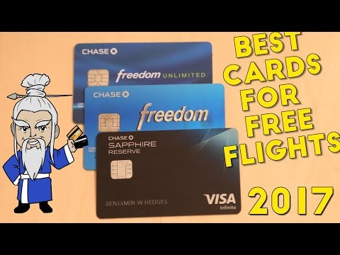 The Best Credit Card Combination For Free Flights