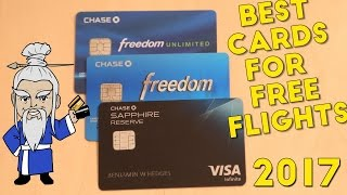 The BEST Credit Card combination for FREE FLIGHTS (2017)