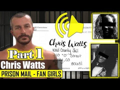 """Chris Watts' prison mail """"fan girl / love letters"""" read out loud"""