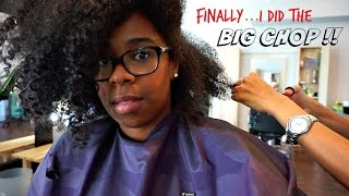 Big Chop !! Fiddleheads Salon D.C.