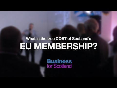 What is the true cost of Scotland's EU membership?