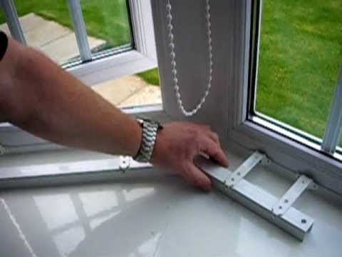 How to measure an angled bay window or conservatory when ordering blinds