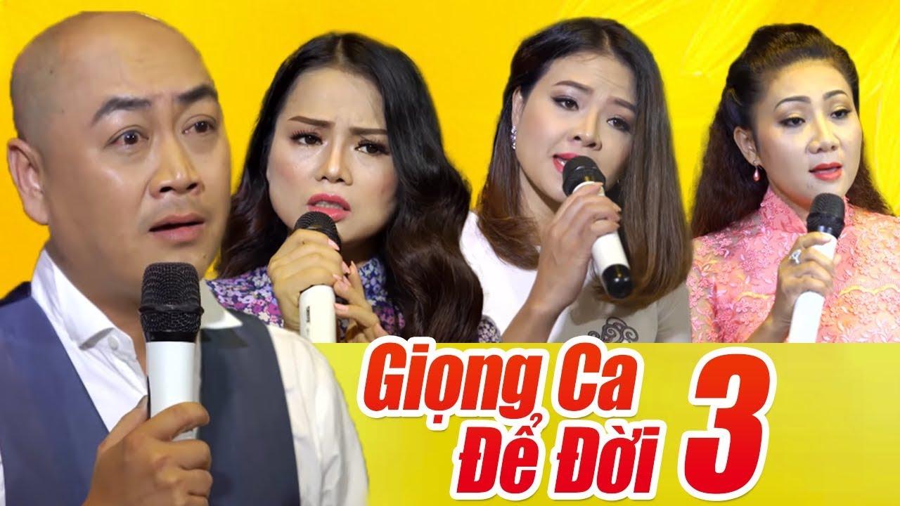 Liveshow GIỌNG CA ĐỂ ĐỜI 3 – Nhạc Vàng Bolero Xưa Hay Tê Tái Nhiều Ca Sĩ Quang Lập, Tài Nguyễn