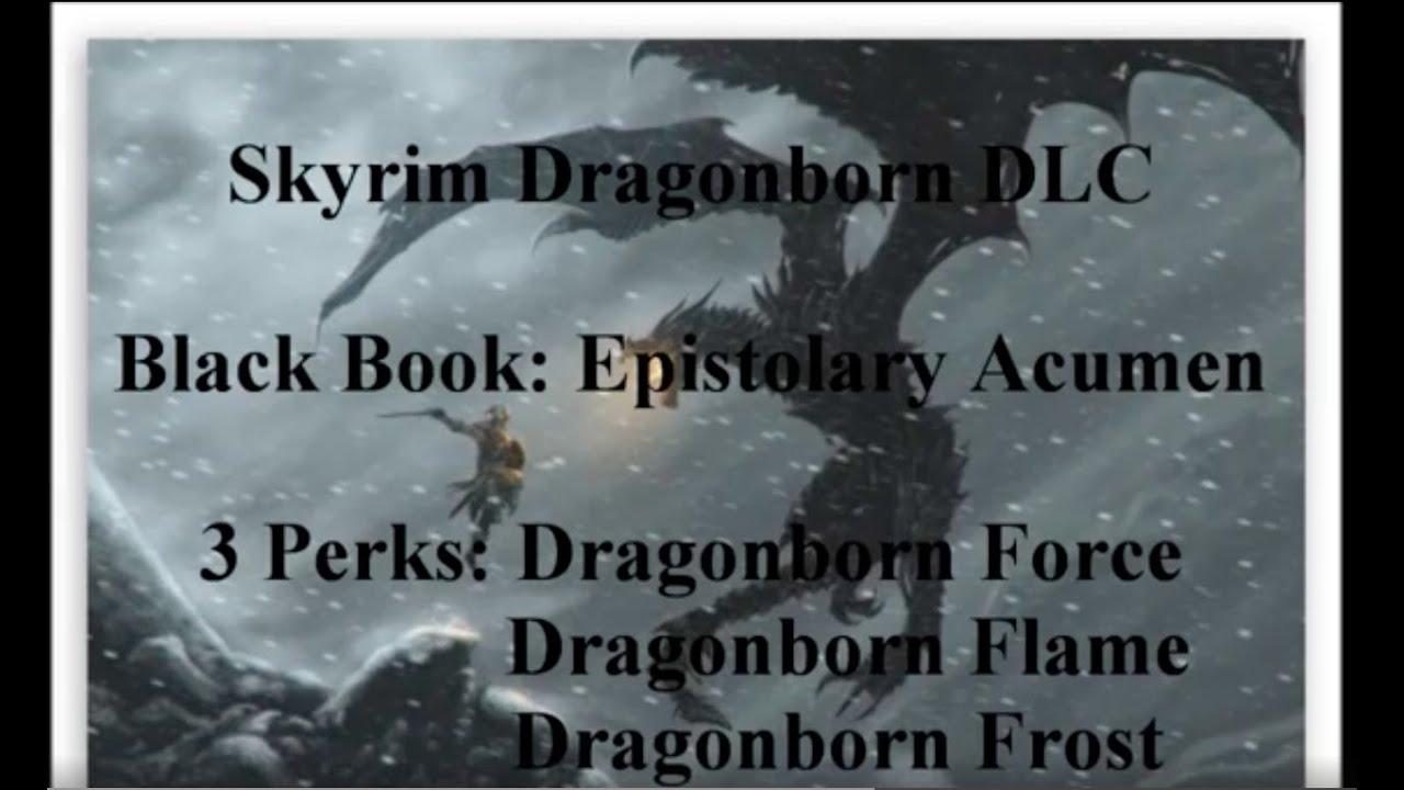 Skyrim Black Book Powers