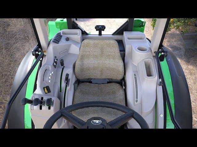 Wnętrze kabiny ciągników serii 5G | John Deere PL