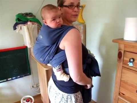 Rucksack Baby Wrap Back Carry Youtube