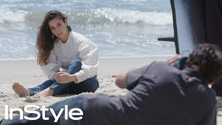 Behind the Scenes with Aly Raisman | InStyle