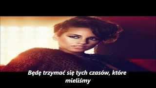 Alicia Keys - Try Sleeping With A Broken Heart (tłumaczenie pl)