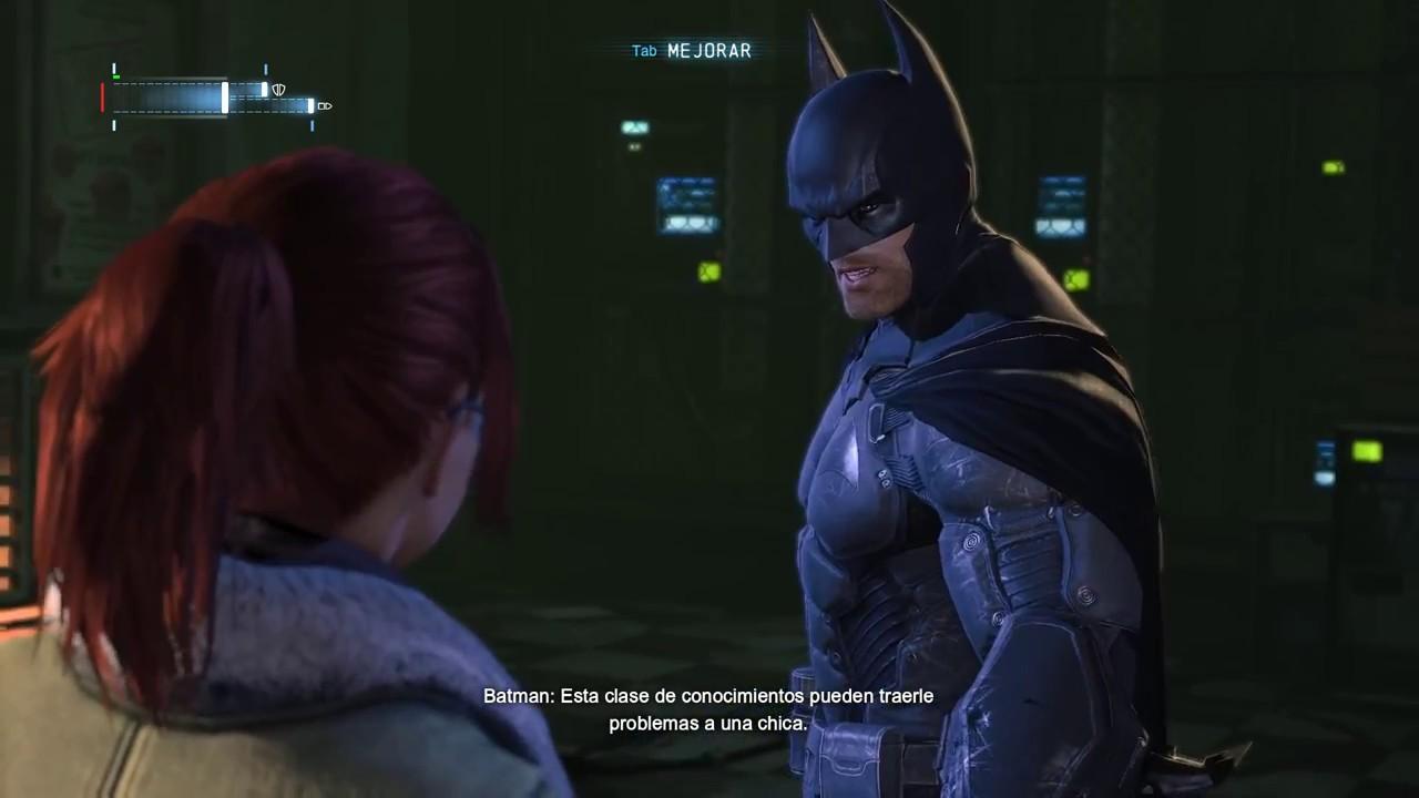 barbara gordon episodio 9 batman arkham origins youtube