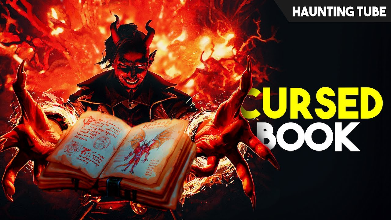 World's Most CURSED Books - Written by DEVIL   Haunting Tube